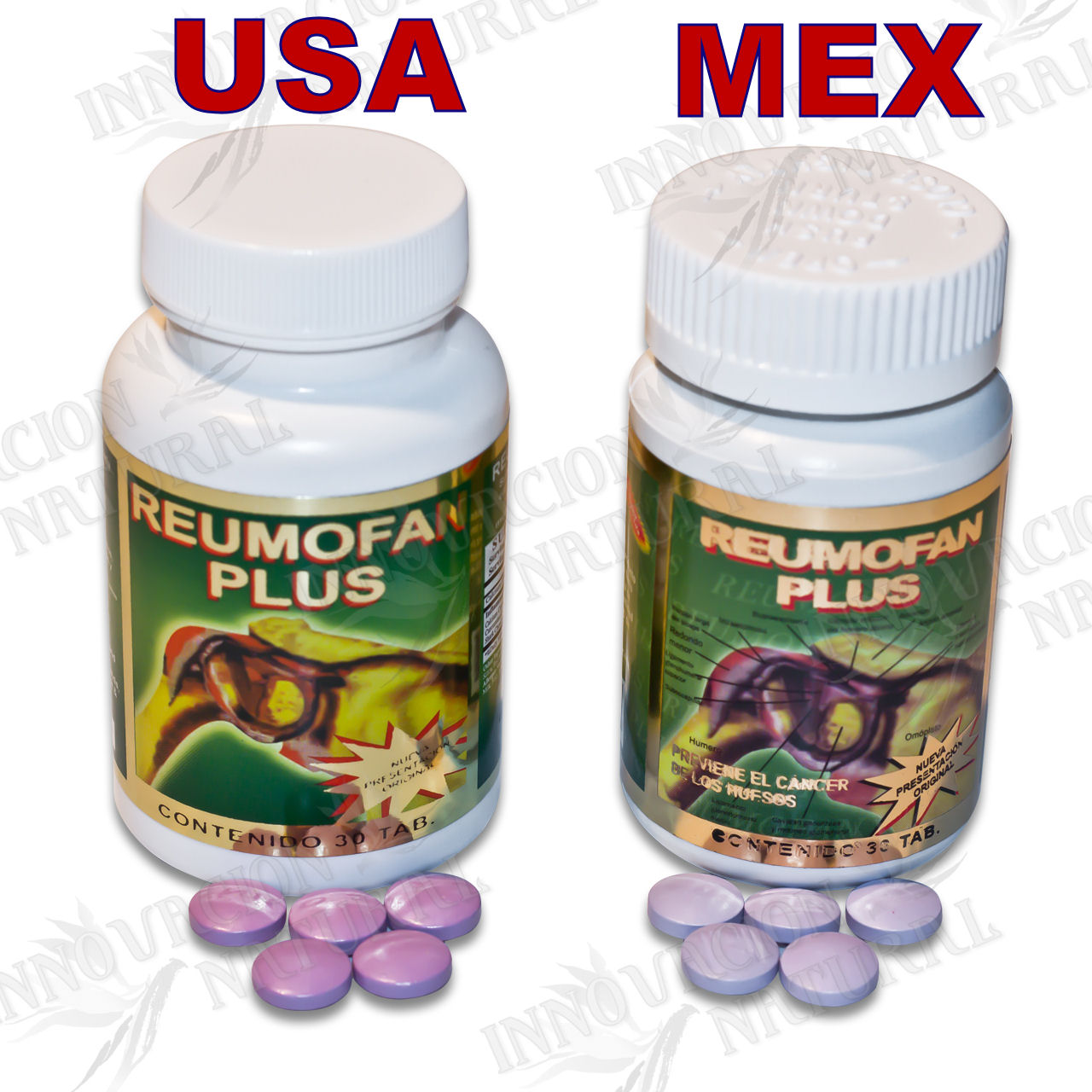 Reumofan Plus Bottles